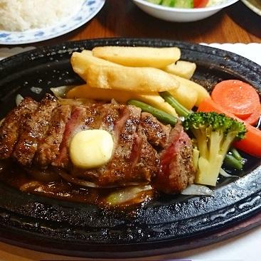 ロースステーキディナー